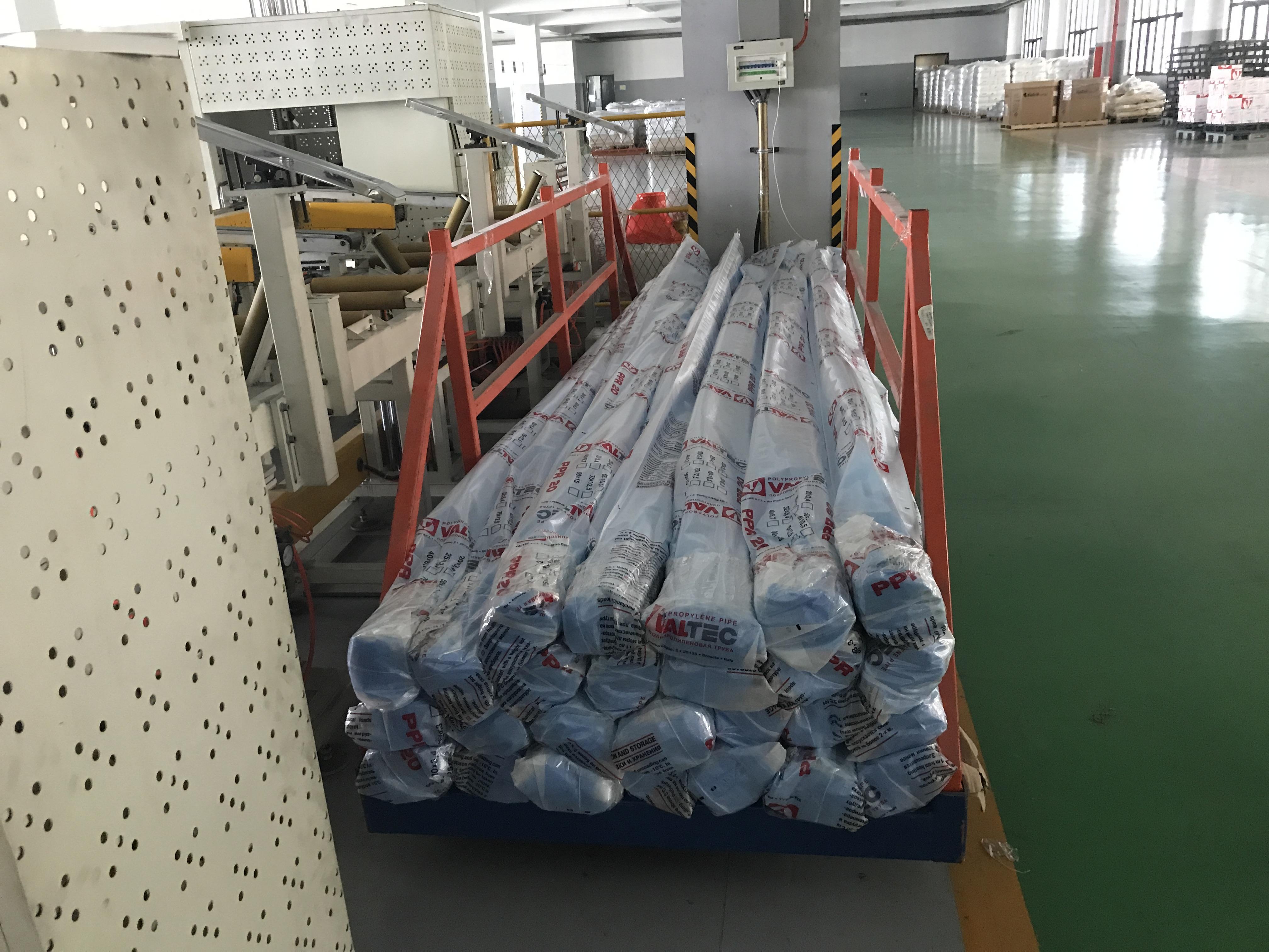 供應塑膠直管套袋包裝機組