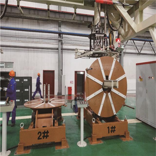 銅帶多卷焊接堆垛線