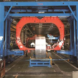 寬幅鋼卷/鋁卷穿芯纏繞包裝機 (雙C型)