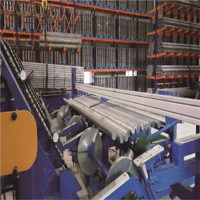 機械搬運式鋼管六邊成型堆垛包裝線